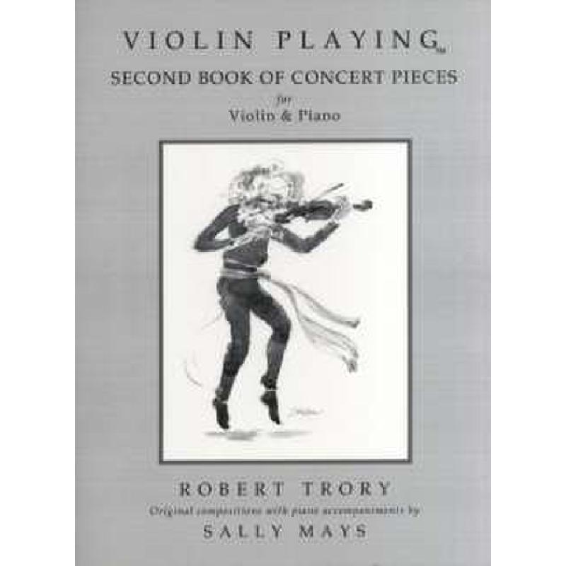 Titelbild für SPARTAN -WAV007 - VIOLIN PLAYING - SECOND BOOK OF CONCERT PIECES
