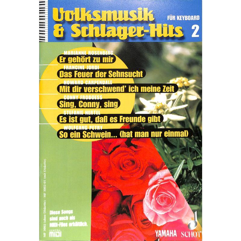 Titelbild für MF 3002 - VOLKSMUSIK + SCHLAGERHITS 2