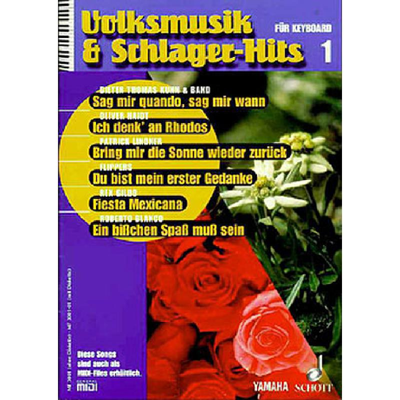 Titelbild für MF 3001-01 - VOLKSMUSIK + SCHLAGERHITS 1