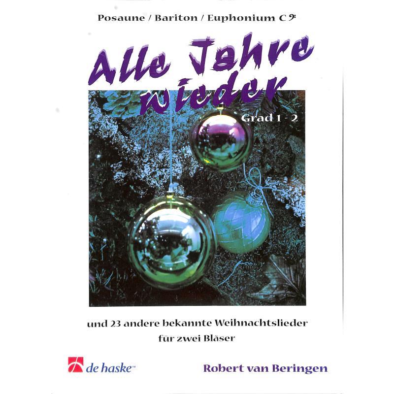 Titelbild für HASKE 981348 - ALLE JAHRE WIEDER + 23 ANDERE WEIHNACHTSLIEDER