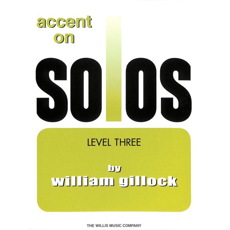 Titelbild für HL 416179 - ACCENT ON SOLOS 3