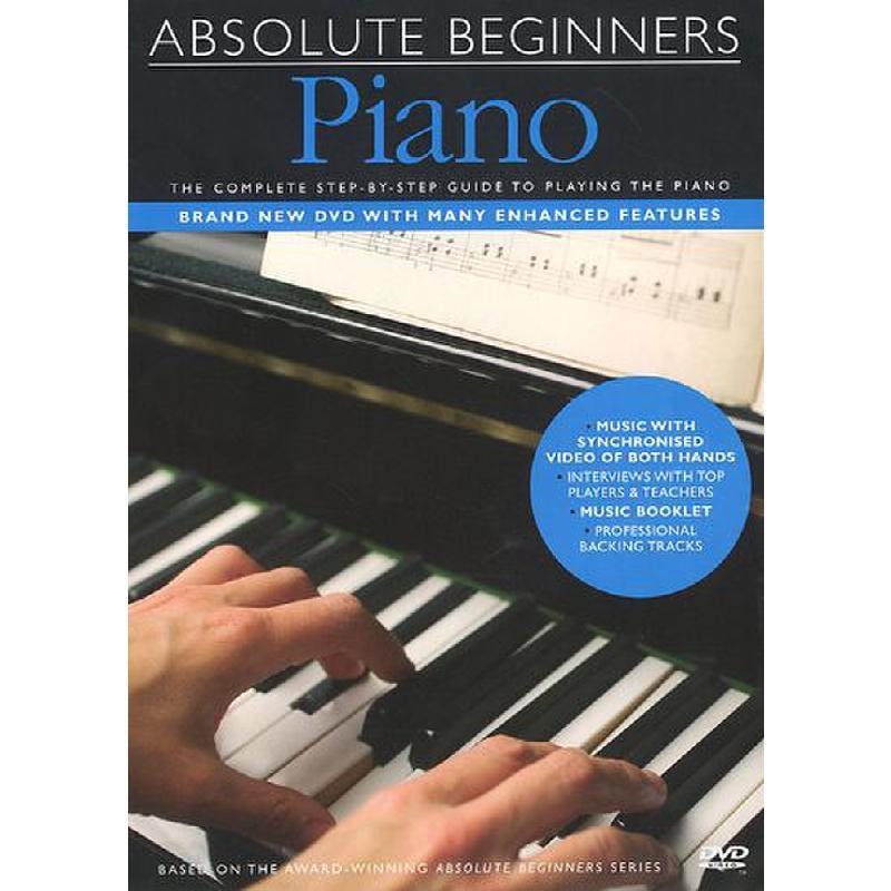 Titelbild für MSDV 10340 - ABSOLUTE BEGINNERS PIANO