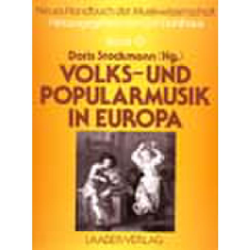 Titelbild für 978-3-89007-042-1 - Volks und Popularmusik in Europa
