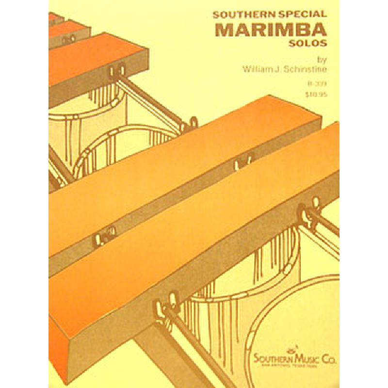 Titelbild für SOU B339 - SOUTHERN SPECIAL MARIMBA SOLOS