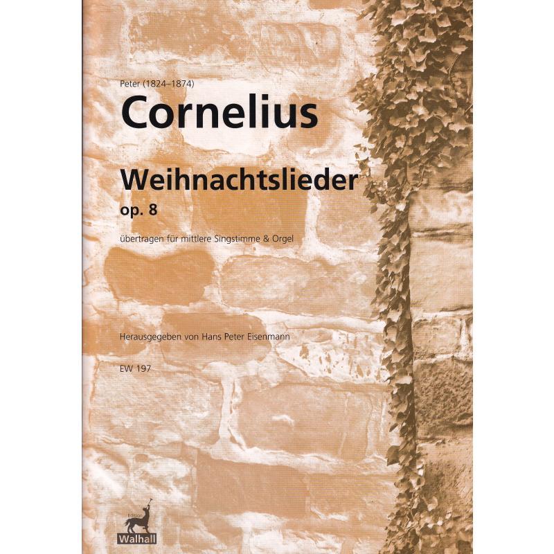 Titelbild für WALHALL 197 - WEIHNACHTSLIEDER OP 8