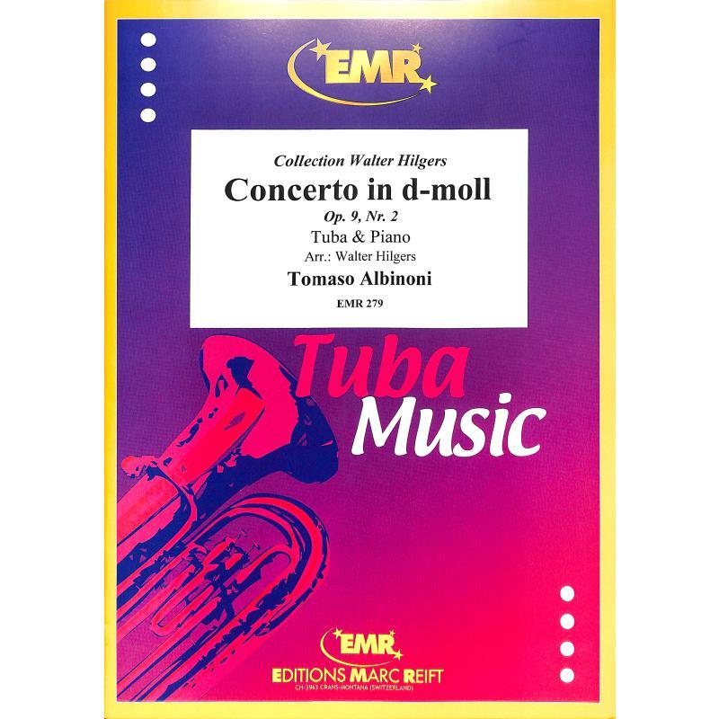 Titelbild für EMR 279 - CONCERTO A CINQUE D-MOLL OP 9/2