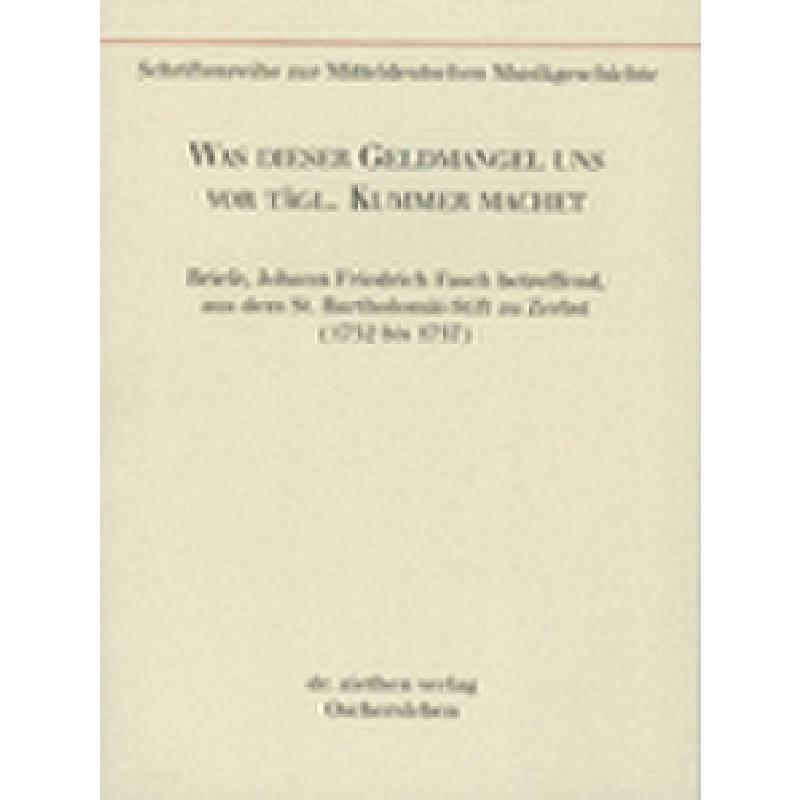Titelbild für ISBN 3-932090-13-6 - WAS DIESER GELDMANGEL UNS VOR TAEGLICH KUMMER MACHET