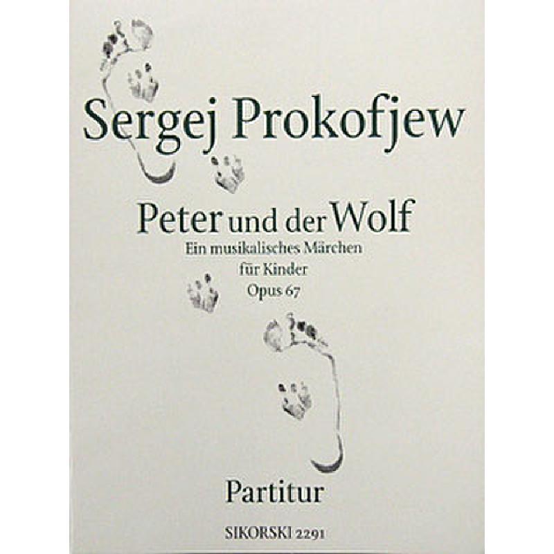 Titelbild für SIK 2291 - PETER + DER WOLF OP 67