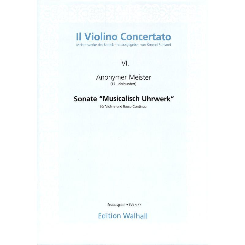 Titelbild für WALHALL 577 - SONATE (MUSICALISCH UHRWERK)