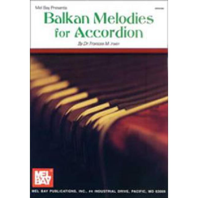 Titelbild für MB 95986 - BALKAN MELODIES FOR ACCORDION
