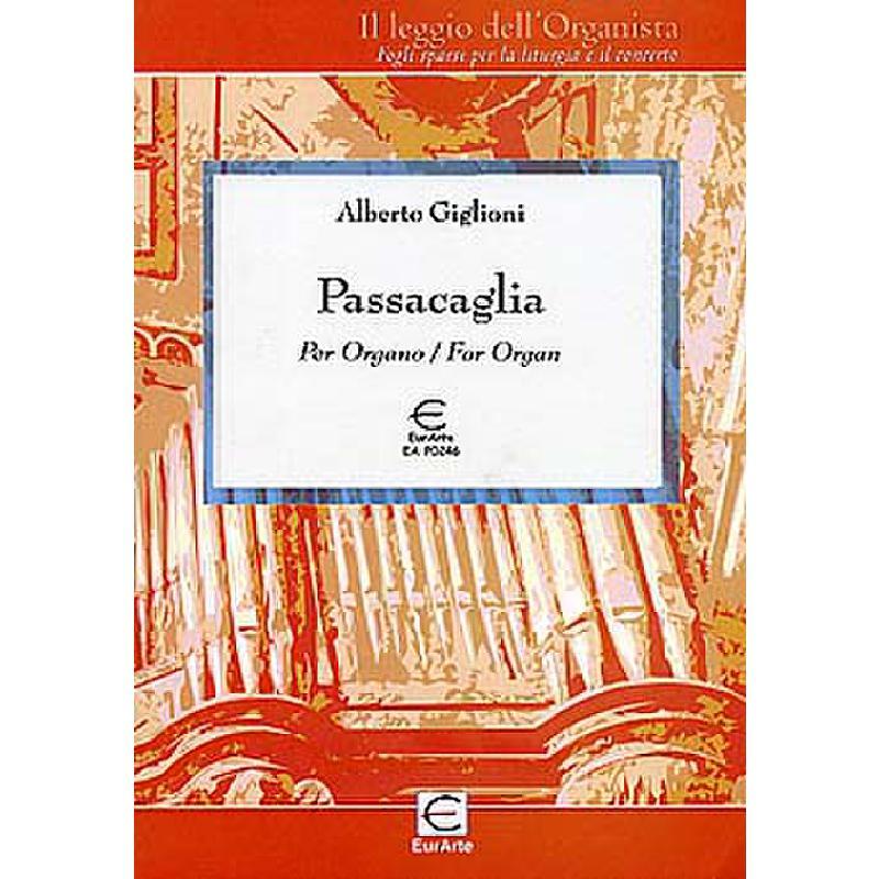 Titelbild für EAP 0246 - PASSACAGLIA