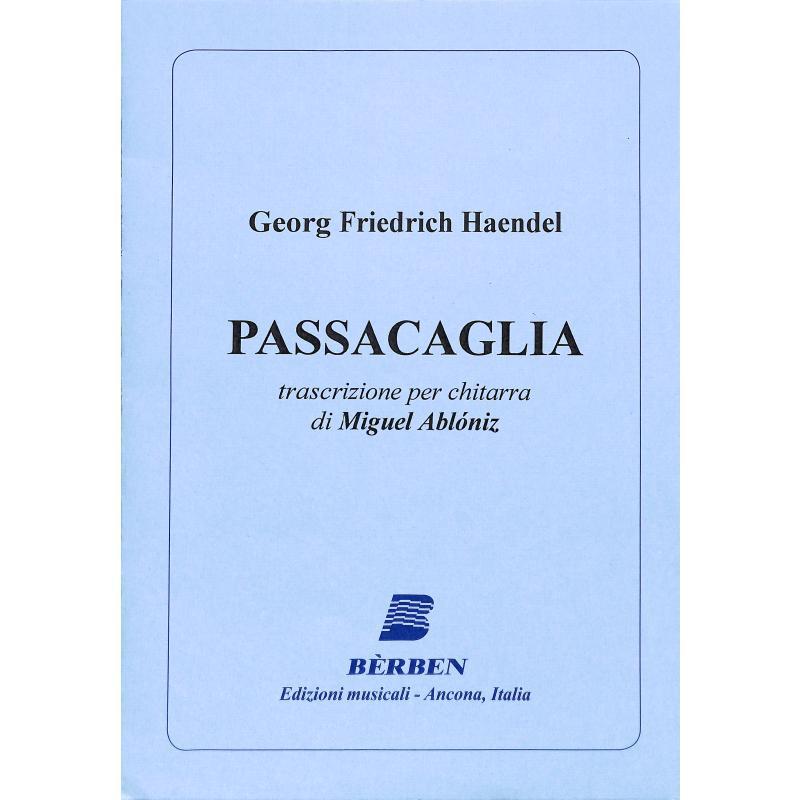Titelbild für BE 1324 - PASSACAGLIA