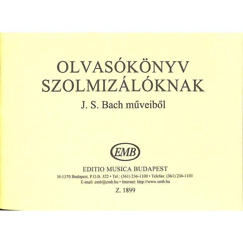 Titelbild für EMB 1899 - LESEBUCH FUER SOLMISATION