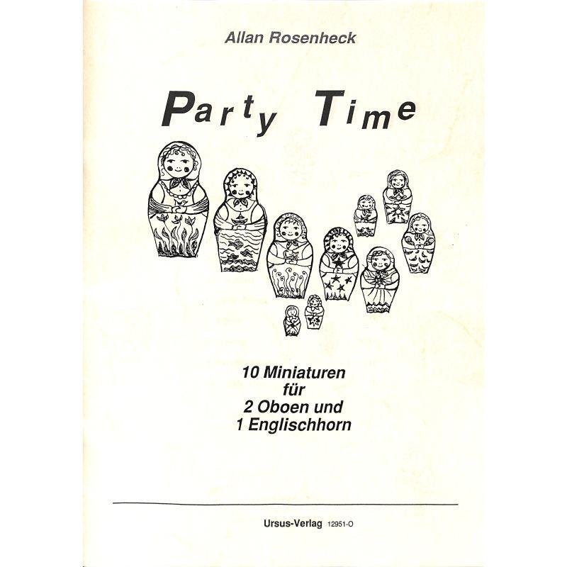 Titelbild für URSUS 12951-O - PARTY TIME - 10 MINIATUREN