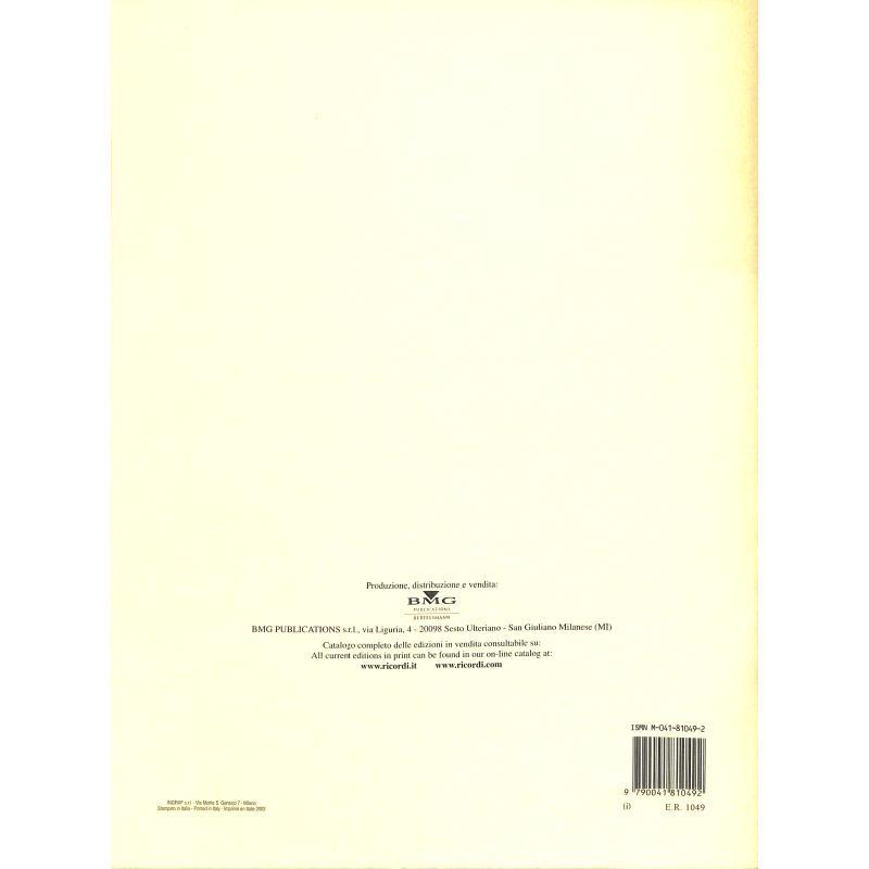 Notenbild für ER 1049 - VOCALIZZI NELLO STILE MODERNO,2. SERIE VOL.1