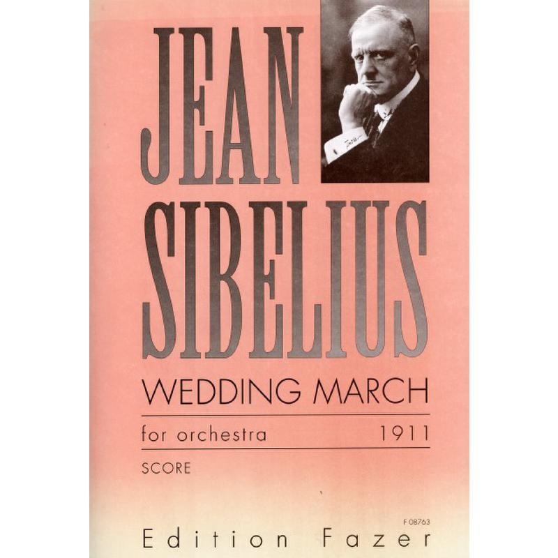Titelbild für FAZER 08763-3 - WEDDING MARCH (HOCHZEITSMARSCH)