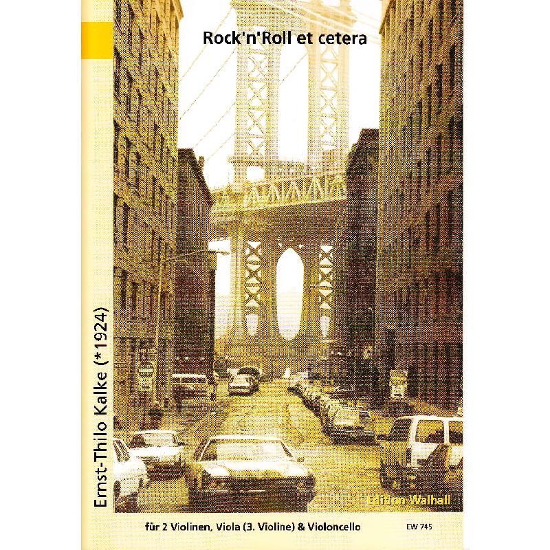 Titelbild für WALHALL 745 - ROCK'N ROLL ET CETERA
