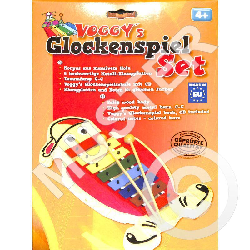 Titelbild für VOGG 0525-9 - VOGGY'S GLOCKENSPIEL SET IM KARTON