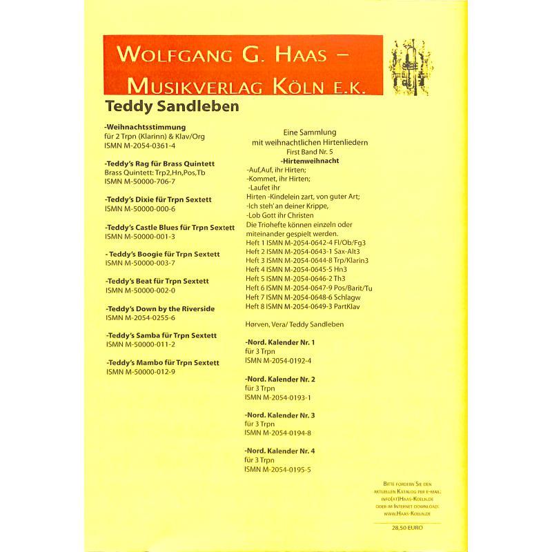 Notenbild für HAAS 1216-6 - WEIHNACHTSGLOCKEN