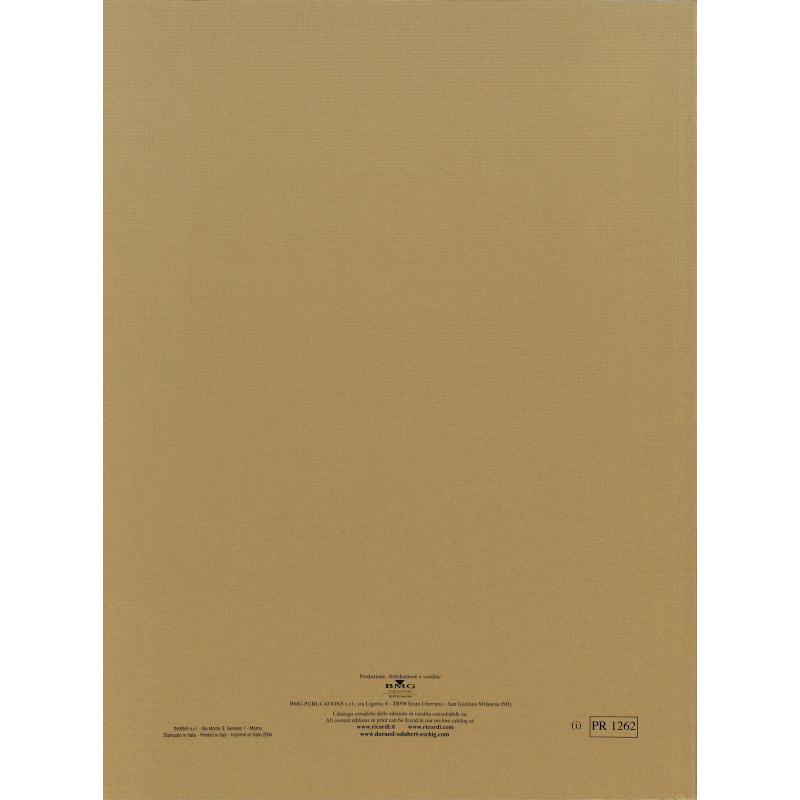 Notenbild für ERPR 1262 - SANCTORUM MERITIS - HYMNE RV 620