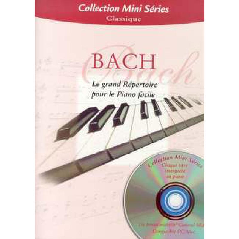 Titelbild für EMF 100033 - LE GRAND REPERTOIRE POUR LE PIANO FACILE