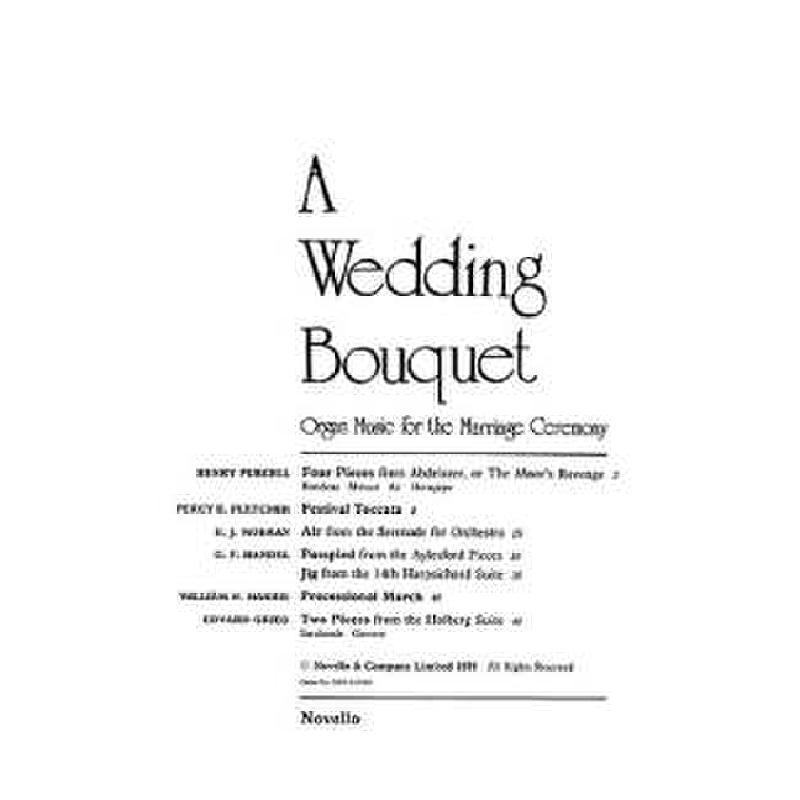 Titelbild für MSNOV 10149 - WEDDING BOUQUET