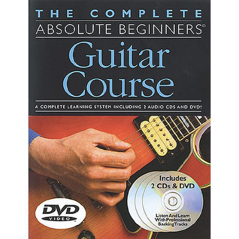 Titelbild für MSAM 975062 - ABSOLUTE BEGINNERS GUITAR COURSE SET (SCHULE 1 + 2 + SONGBOOK + 2