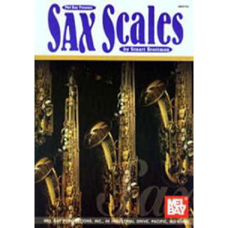 Titelbild für MB 97742 - SAX SCALES
