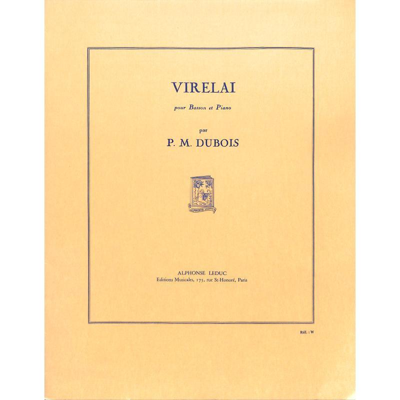 Titelbild für AL 23011 - VIRELAI