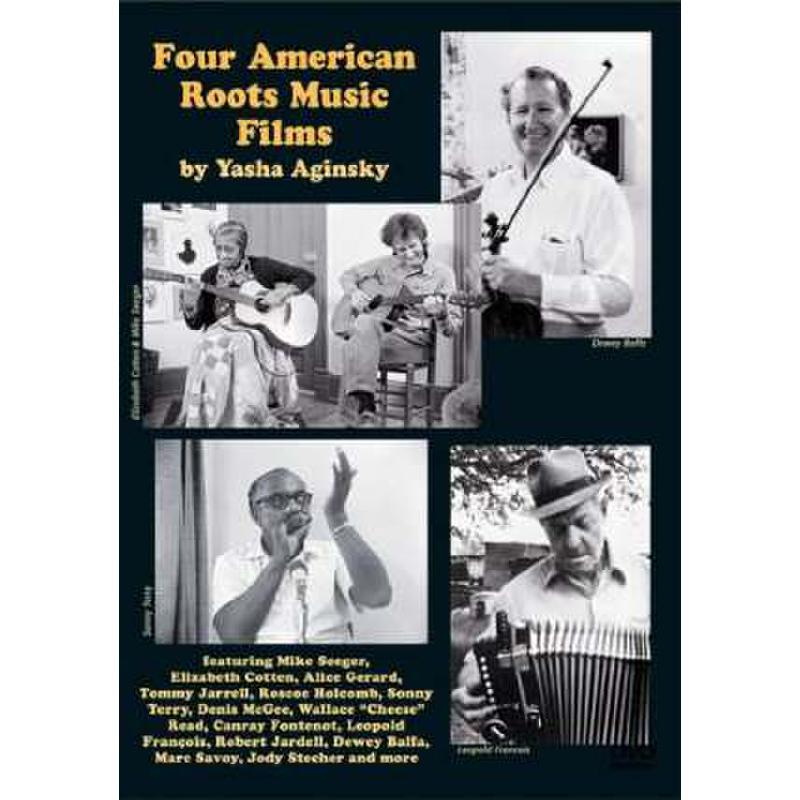 Titelbild für VESTAPOL 13103 - 4 AMERICAN ROOTS MUSIC FILMS
