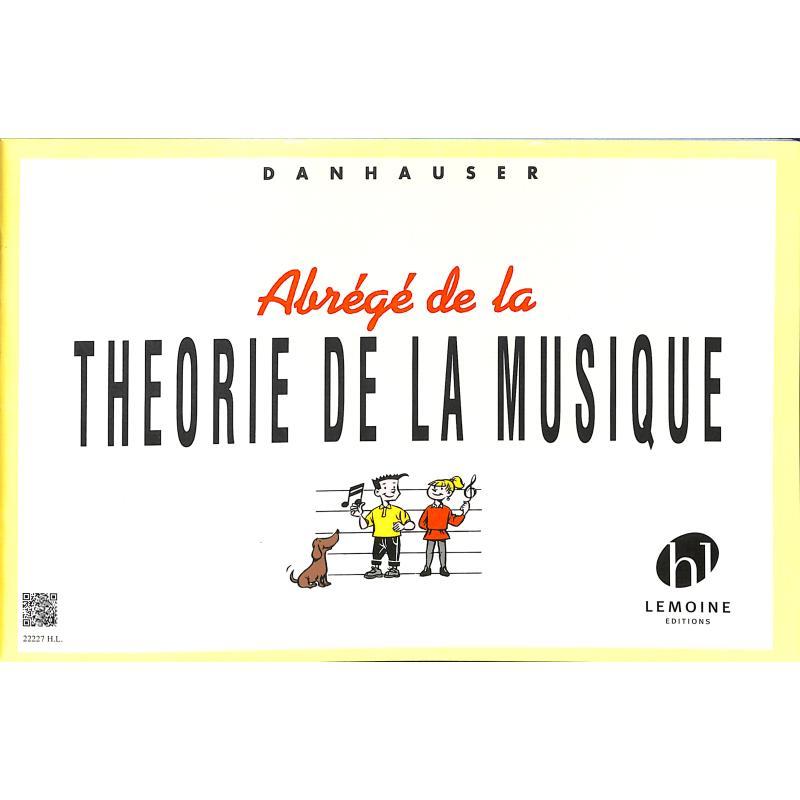 Titelbild für LEMOINE 22227 - ABREGE DE LA THEORIE