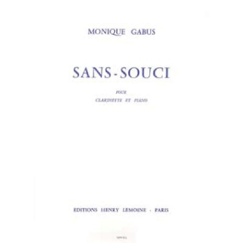Titelbild für LEMOINE 24359 - SANS SOUCI