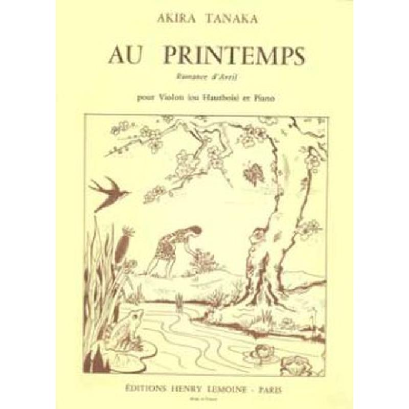 Titelbild für LEMOINE 24605 - AU PRINTEMPS