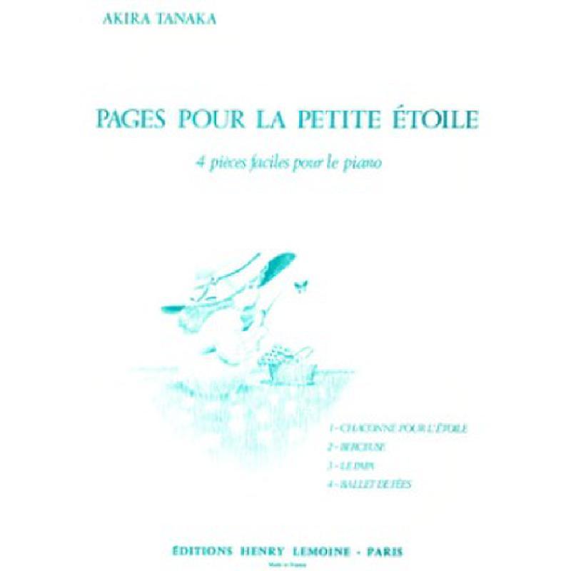 Titelbild für LEMOINE 24682 - PAGES POUR LA PETITE ETOILE
