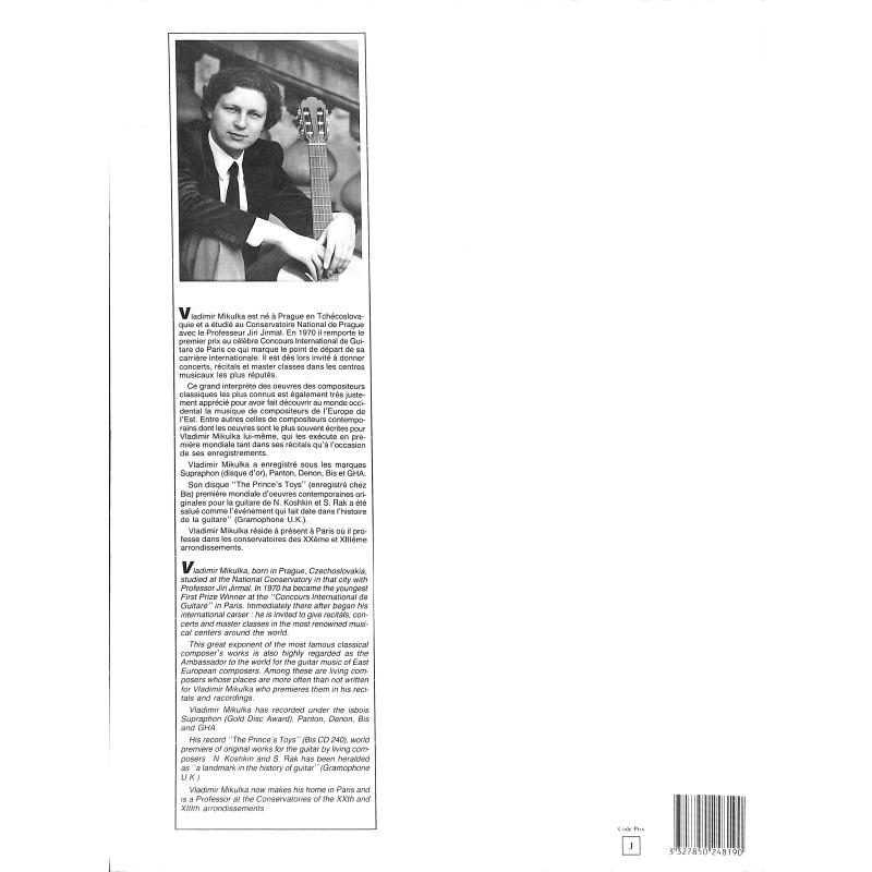 Notenbild für LEMOINE 24819 - 6 PIECES