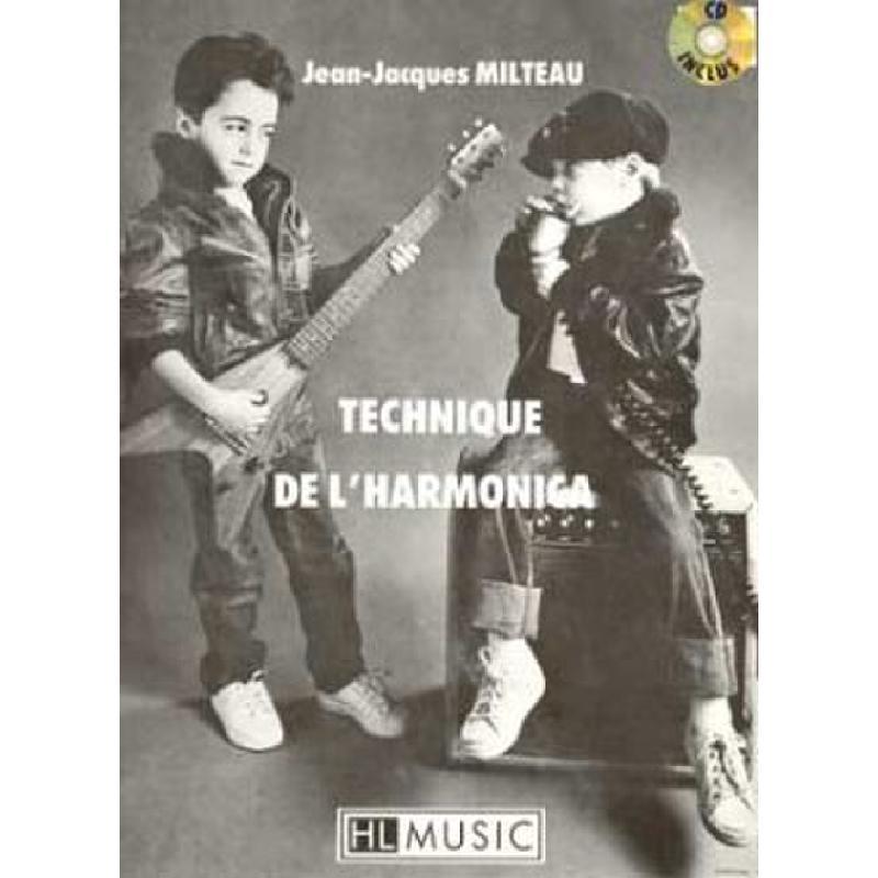 Titelbild für LEMOINE 24823 - TECHNIQUE DE L'HARMONICA