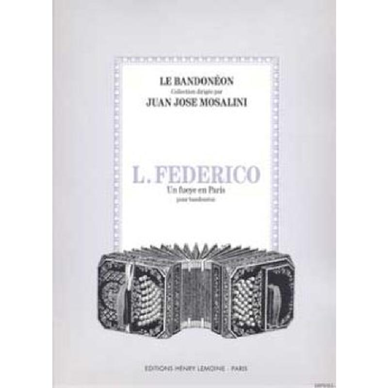 Titelbild für LEMOINE 24970 - UN FUEYE EN PARIS