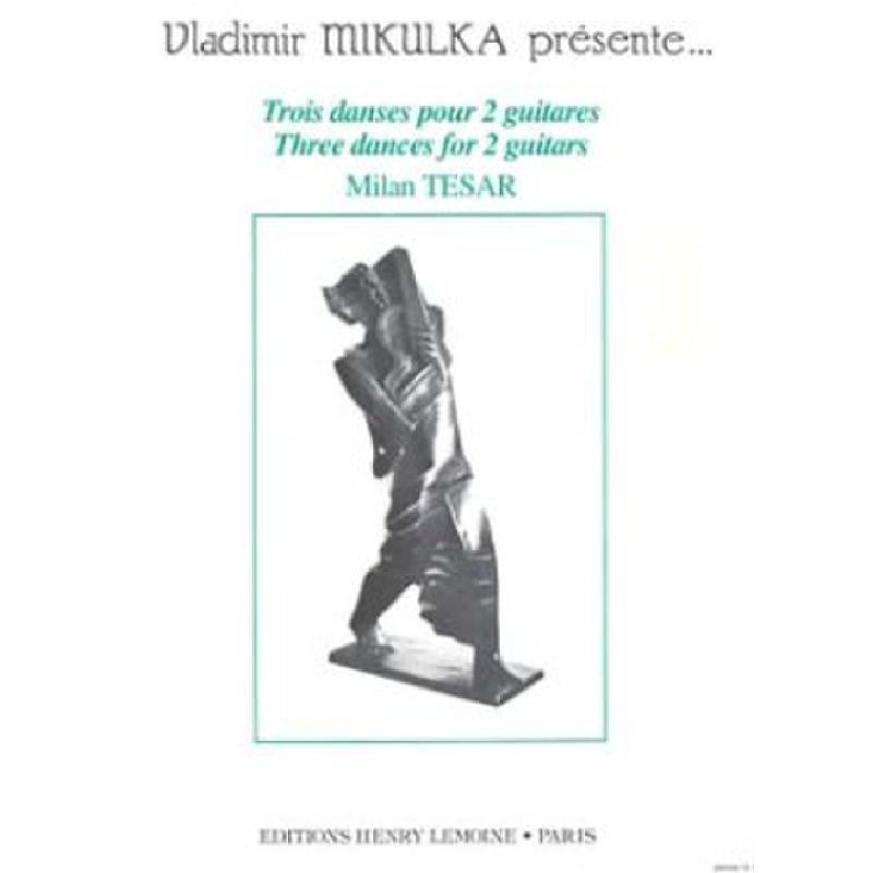 Titelbild für LEMOINE 26048 - 3 DANCES