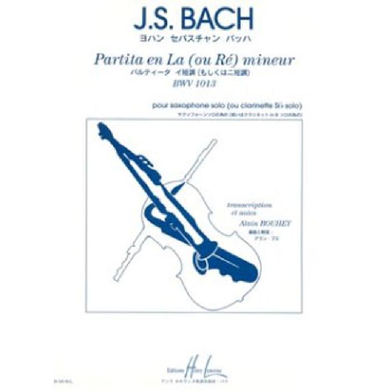 Titelbild für LEMOINE 26105 - PARTITA BWV 1013