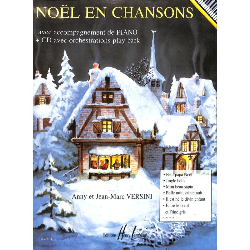 Titelbild für LEMOINE 26244 - NOEL EN CHANSONS
