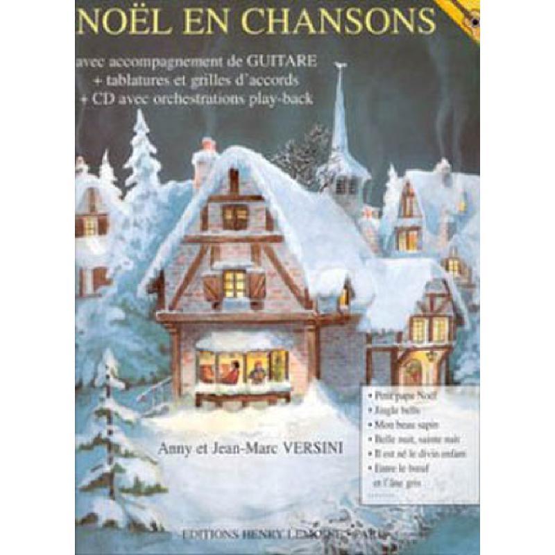 Titelbild für LEMOINE 26245 - NOEL EN CHANSONS