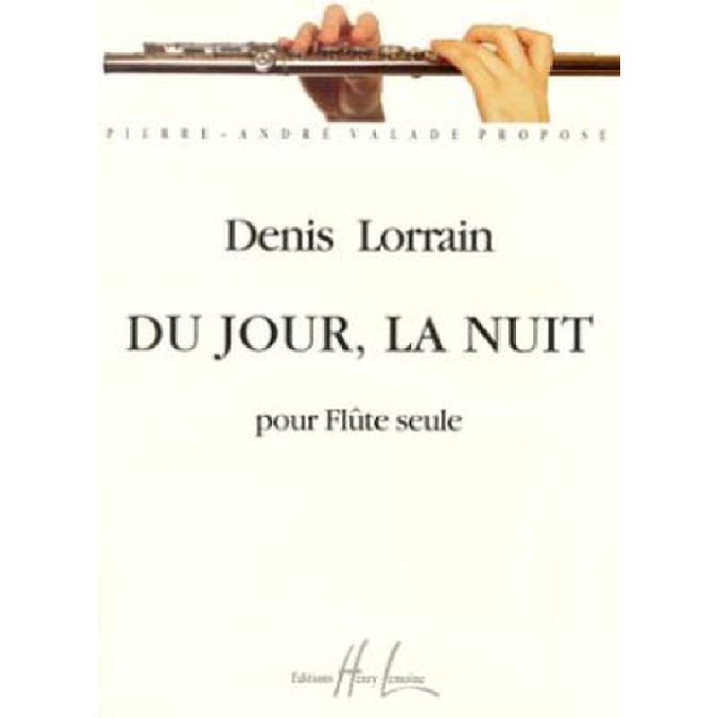 Titelbild für LEMOINE 26517 - DU JOUR LA NUIT