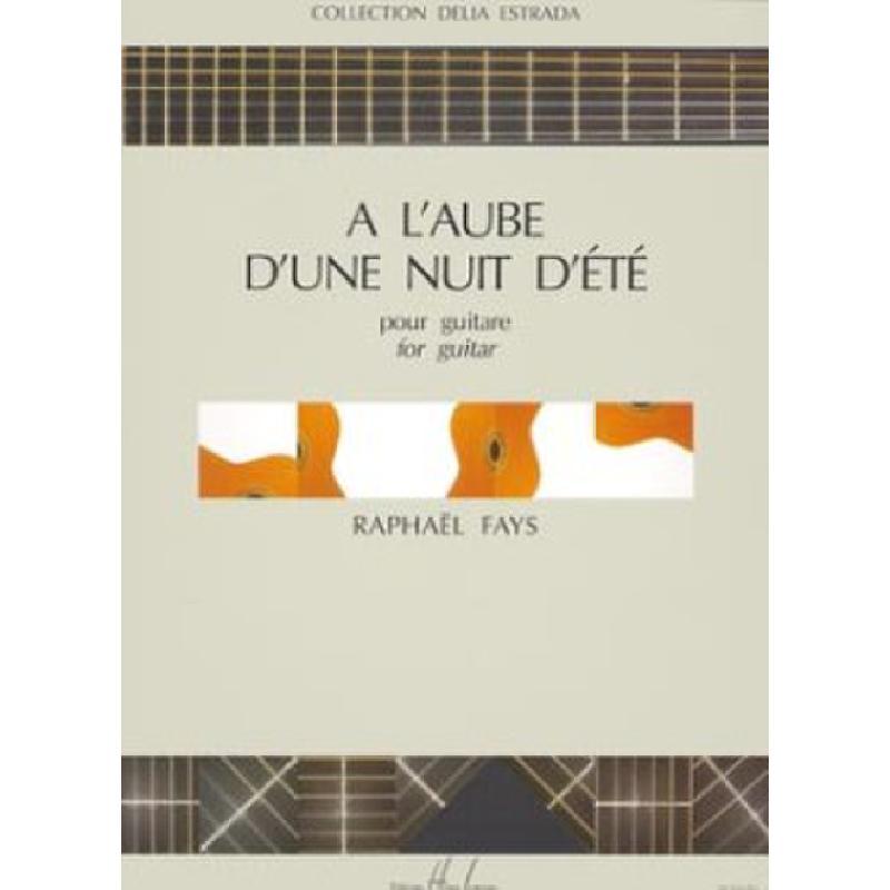 Titelbild für LEMOINE 26556 - A L'AUBE D'UNE NUIT D'ETE