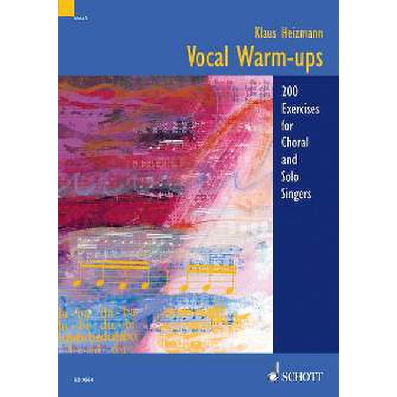 Titelbild für ED 9564 - VOCAL WARM UPS