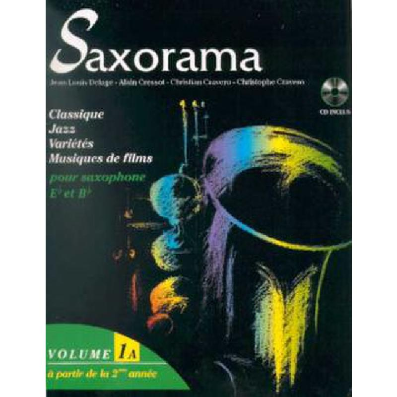 Titelbild für HIT -PCSAXRAMA1A - SAXORAMA 1A