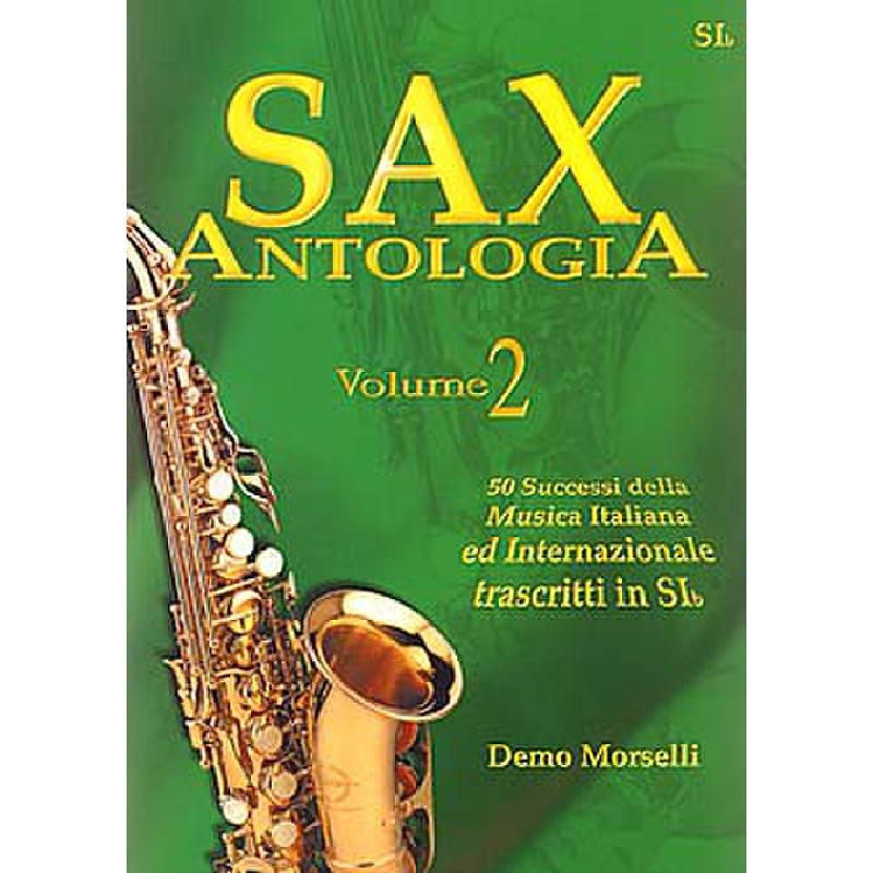 Titelbild für ML 2015 - SAX ANTOLOGIA 2