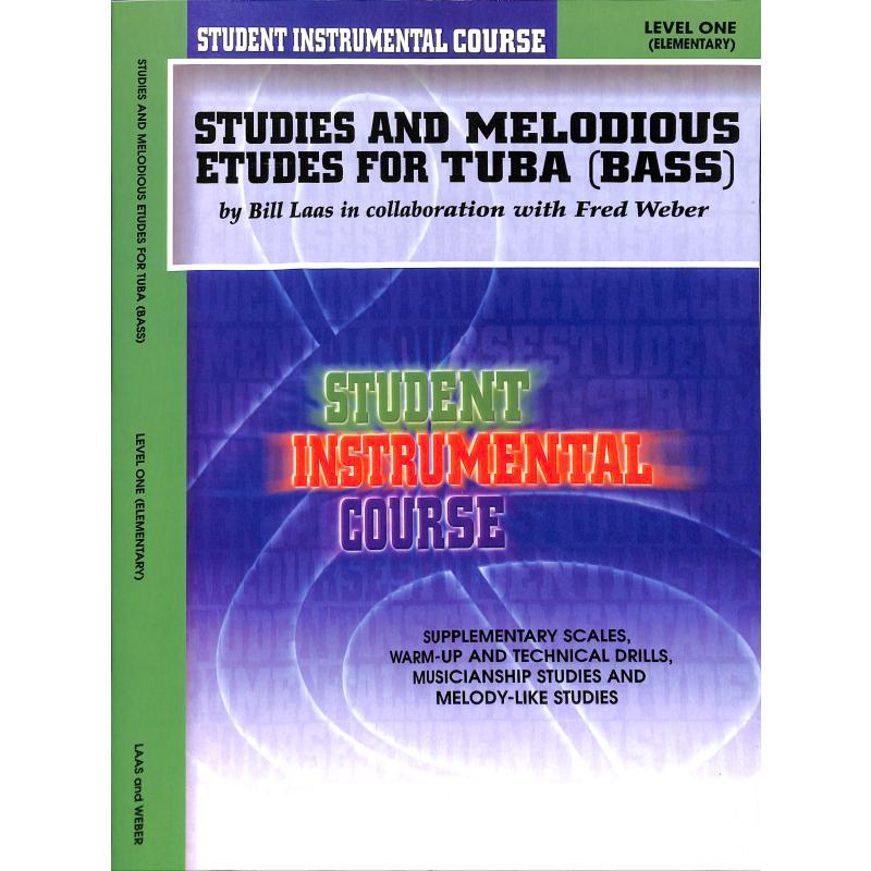 Titelbild für BIC 00167A - STUDIES + MELODIOUS ETUDES 1 LE