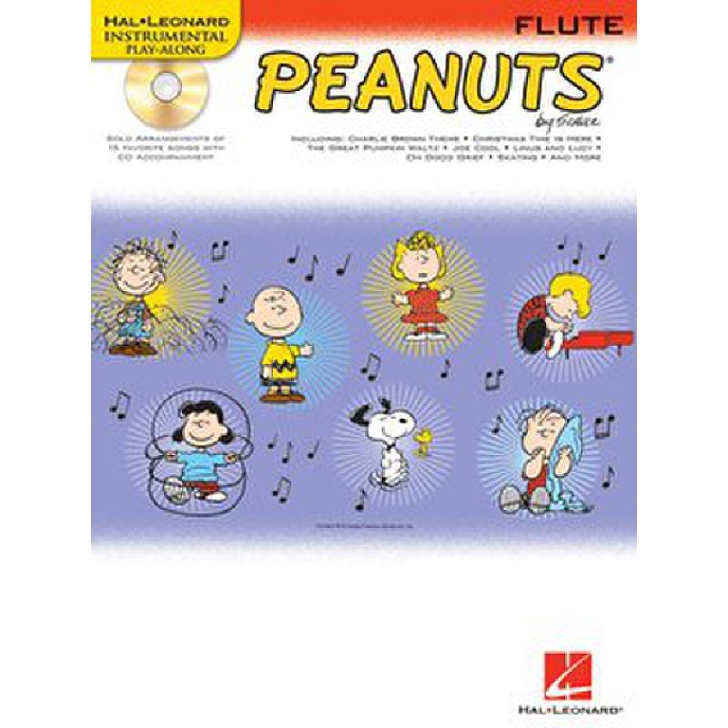 Titelbild für HL 842430 - PEANUTS - 15 SONGS