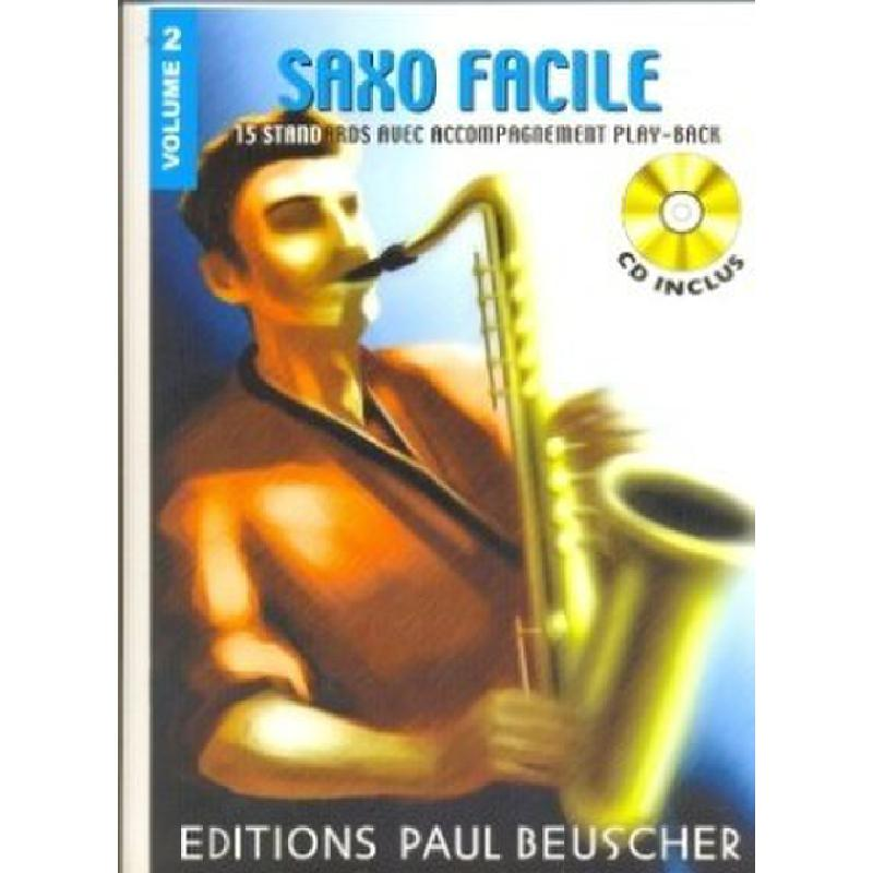 Titelbild für EPB 1138 - SAXO FACILE 2 - 15 STANDARDS