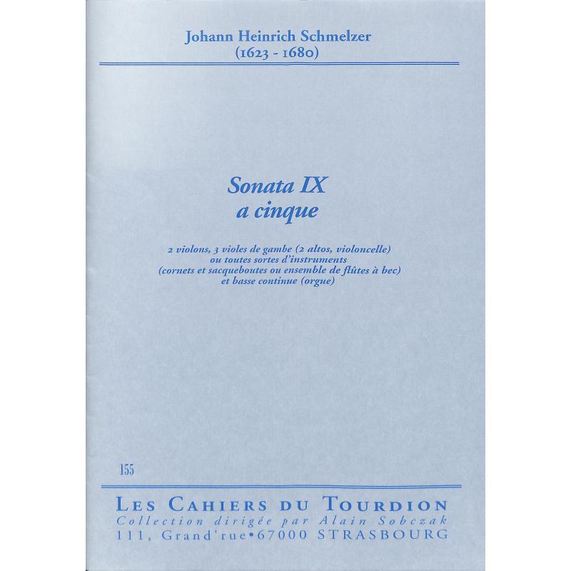 Titelbild für CDT 155 - SONATA 9 A CINQUE